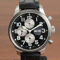 Zeno-Watch Basel OS Pilot Otel 47mm Negru Arabic