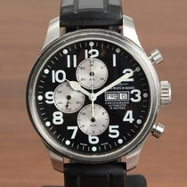 Zeno-Watch Basel OS Pilot Otel 47mm Negru Arabic