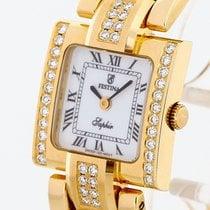 Festina Damenuhr 18 K Gold mit Diamanten Ref. F0423-1