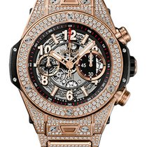 Hublot Big Bang Unico King Gold Pavé Bracelet