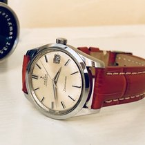 Omega Seamaster vintage men's steel watch automatic cal 565 + Box