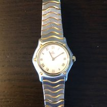 Ebel 1057901 Gold/Steel 1990 Sport 23mm pre-owned