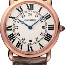 Cartier Ronde Louis Cartier Rose gold 36mm Silver Roman numerals United States of America, New York, New York