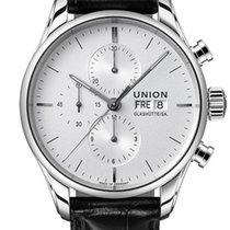 Union Glashütte Viro Chronograph Otel 44mm Argint