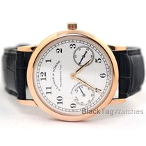 A. Lange & Söhne Rose gold Manual winding Silver Arabic numerals 36mm pre-owned 1815