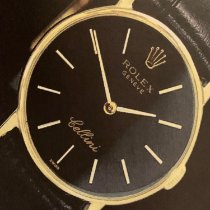 Rolex Cellini Yellow gold 25mm No numerals