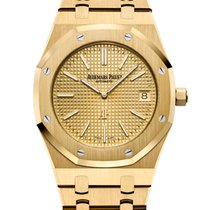Audemars Piguet Royal Oak Jumbo Yellow gold 39mm Yellow No numerals United States of America, New York, New York