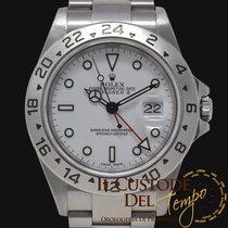 Rolex Explorer II Acciaio 40mm Bianco Senza numeri Italia, Terni