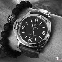 Panerai Luminor Base Logo Otel 44mm Negru Arabic