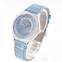 Patek Philippe White gold Automatic 36mm pre-owned World Time