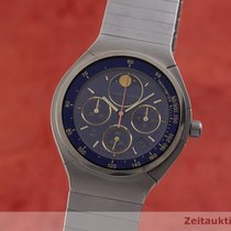 IWC Porsche Design Titan 36mm Albastru
