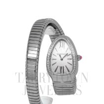 Bulgari Serpenti Steel 35mm Silver Roman numerals United States of America, New York, Hartsdale