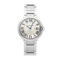 Cartier Ballon Bleu 36mm pre-owned 36mm Silver Fold clasp
