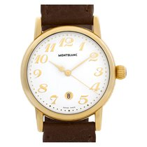 Montblanc Yellow gold Quartz White Arabic numerals 31mm pre-owned Star