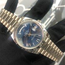 Rolex Day-Date 40 Oro blanco 40mm Azul Romanos España, Arona