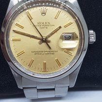 Rolex Oyster Perpetual Date Steel Champagne No numerals India, MUMBAI