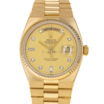 Rolex Day-Date Oysterquartz Yellow gold 36mm Champagne No numerals United States of America, Maryland, Baltimore, MD