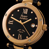 Ryser Kentfield new Automatic Central seconds 40mm Gold/Steel Sapphire crystal
