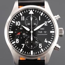 IWC Pilot Chronograph IW377709 New Steel 43mm Automatic