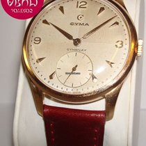 Cyma Oro rosa Automatico Bianco 37mm usato