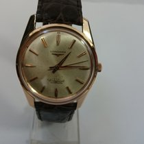 Longines Rose gold 35mm Automatic Conquest pre-owned