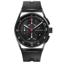 포르쉐 디자인 1919 Chronotimer Black & Rubber