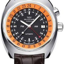Glycine Airman 43mm SST 12 GMT Automatik Herrenuhr GL0075...