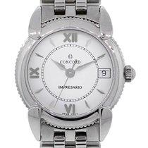 Concord Impresario Stainless Steel  Roman Dial Ladies Watch