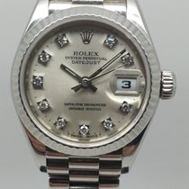Rolex 79179 Or blanc 2002 Lady-Datejust 26mm occasion