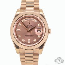 Rolex Day-Date II | President Rose | Original Diamond Dot Dial