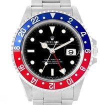 Rolex Gmt Master Blue Red Pepsi Bezel Mens Watch 16700