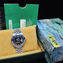 勞力士 GMT MASTER 16750 Pepsi Yellowish Patina with Box and Paper