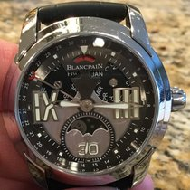 Blancpain 43mm Automatic 2013 pre-owned L-Evolution Silver