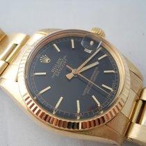 Rolex DATEJUST 31MM 18KT GOLD REF.6827 PLEX YEARS 1979