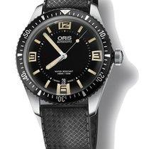 Oris Heritage Divers Rubber Strap Men's Watch 73377074064RS