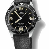 Oris Divers Sixty Five new Automatic Watch with original box 73377074064RS