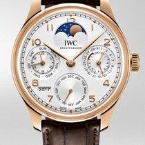IWC Portuguese Perpetual Calendar Rose Gold