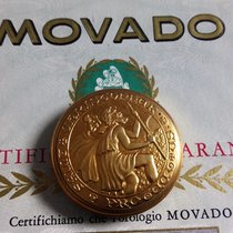 Movado Or jaune 35mm Remontage manuel occasion