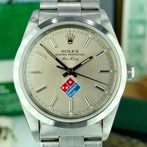 Rolex 14000 Domino's Pizza Air-King Unpolished with Box and...