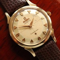 Omega Solid 14k Gold Constellation PiePan 1960s