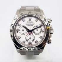 Rolex Daytona pre-owned 40mm White gold