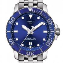 Tissot Seastar 1000 Zeljezo 43.00mm Plav-modar Bez brojeva