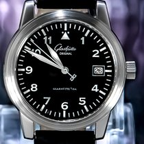 Glashütte Original 38mm Automatisch tweedehands Senator (Submodel) Zwart