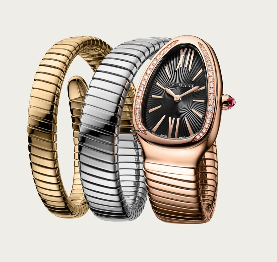 0ecccb8d97487 Bulgari Serpenti Rose gold - all prices for Bulgari Serpenti Rose gold  watches on Chrono24
