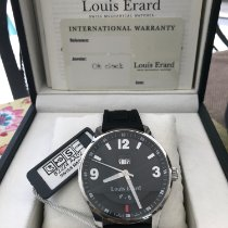 Louis Erard Steel 44mm Automatic 82224AA02.BDE09 pre-owned