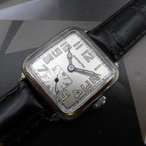 Hamilton White gold Manual winding Black pre-owned