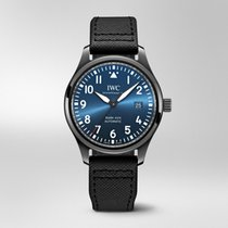 IWC Pilot Mark Ceramic 41mm Blue Arabic numerals United States of America, Iowa, Des Moines
