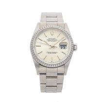 Rolex Datejust Steel 36mm Silver No numerals United States of America, Pennsylvania, Bala Cynwyd