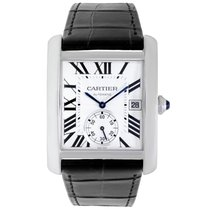 Cartier Tank MC Steel 34mm Silver