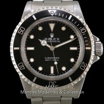 Rolex Submariner (No Date) Stal 40mm Czarny